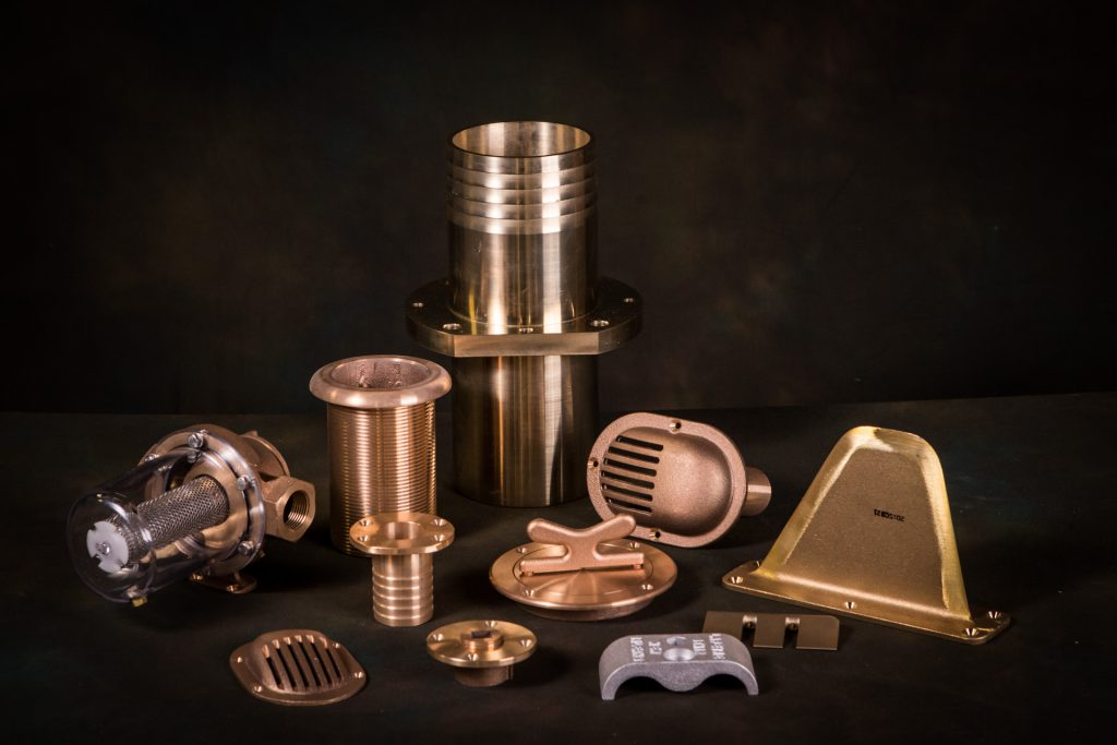 Casting is one of processes providing custom manufactured goods for Con-Tech customers