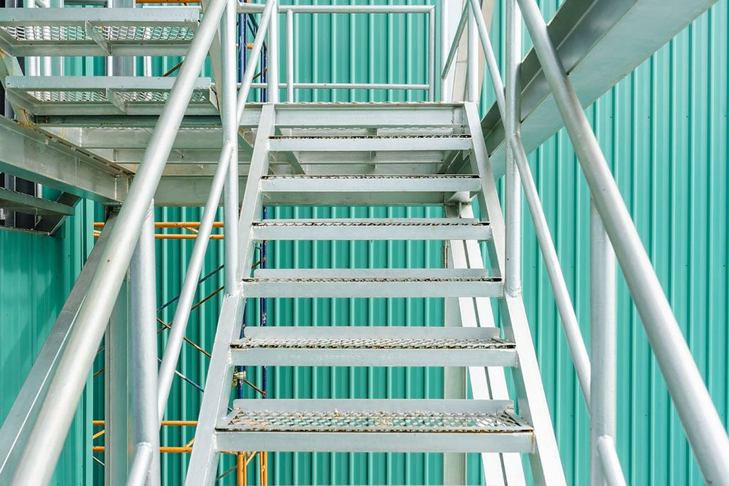 Stairway ladder industry components